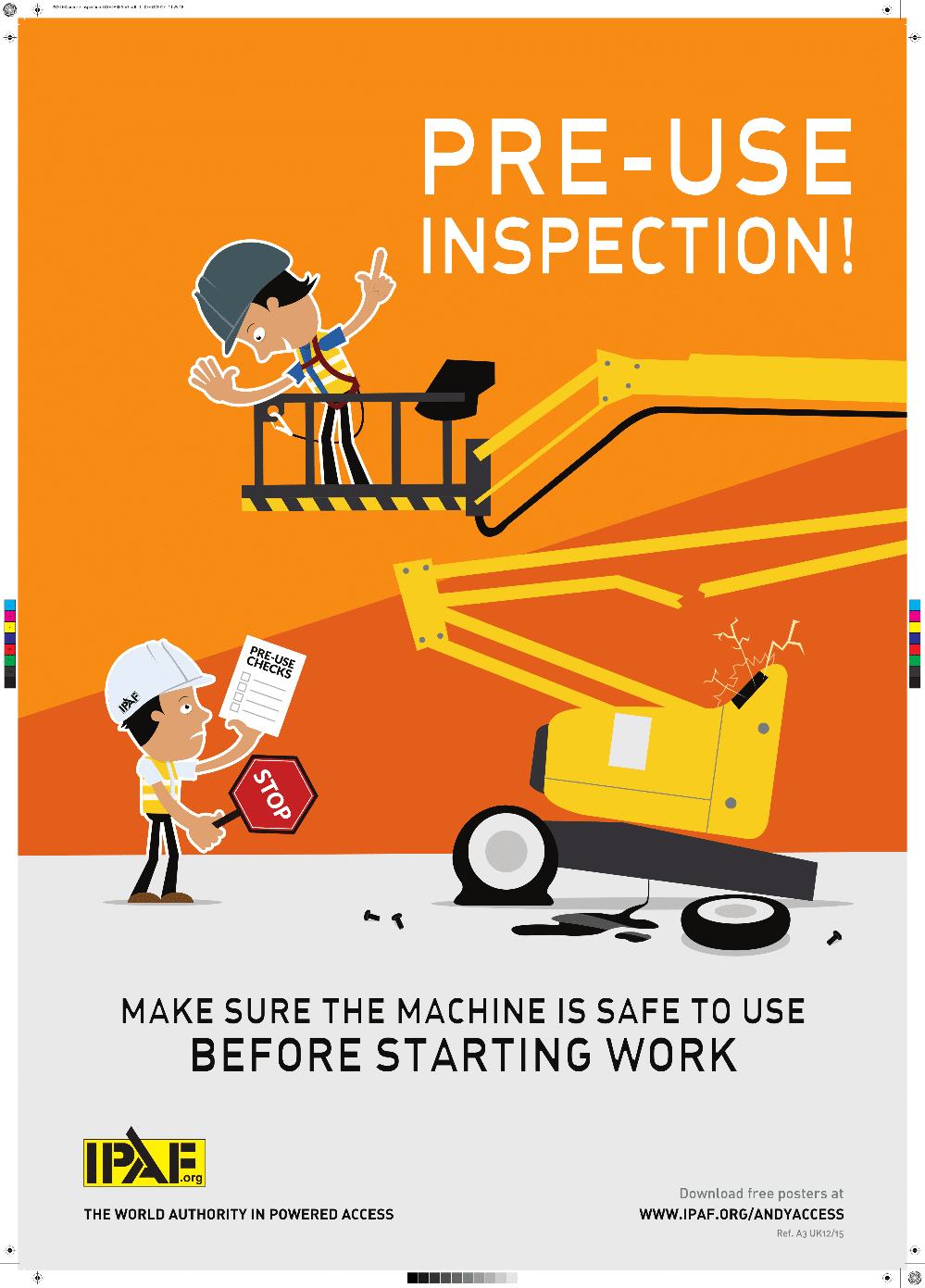 graphic about Free Printable Safety Posters called Business Basic safety Posters Poster Template
