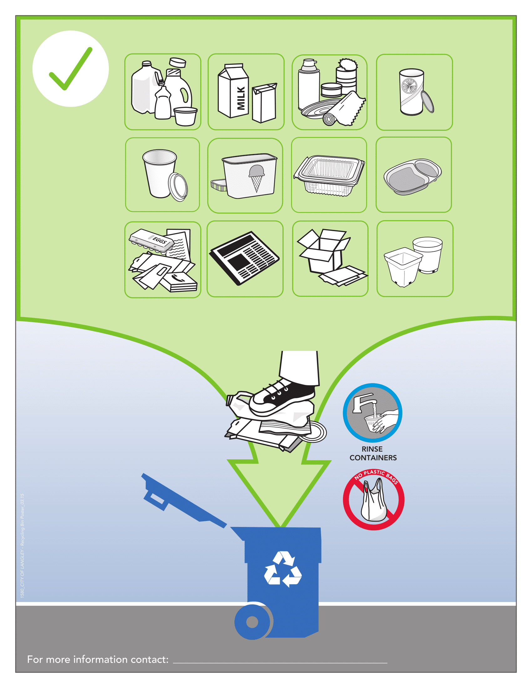 Recycling Posters Poster Template