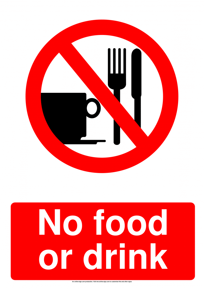 Prohibition Signs | Poster Template