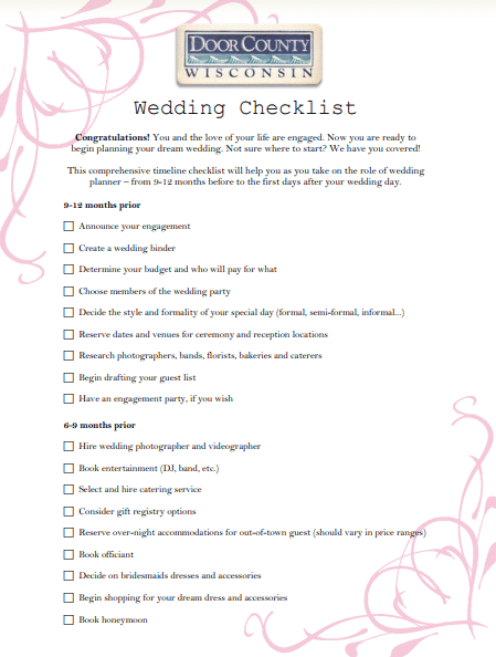 Wedding Program Templates | Poster Template