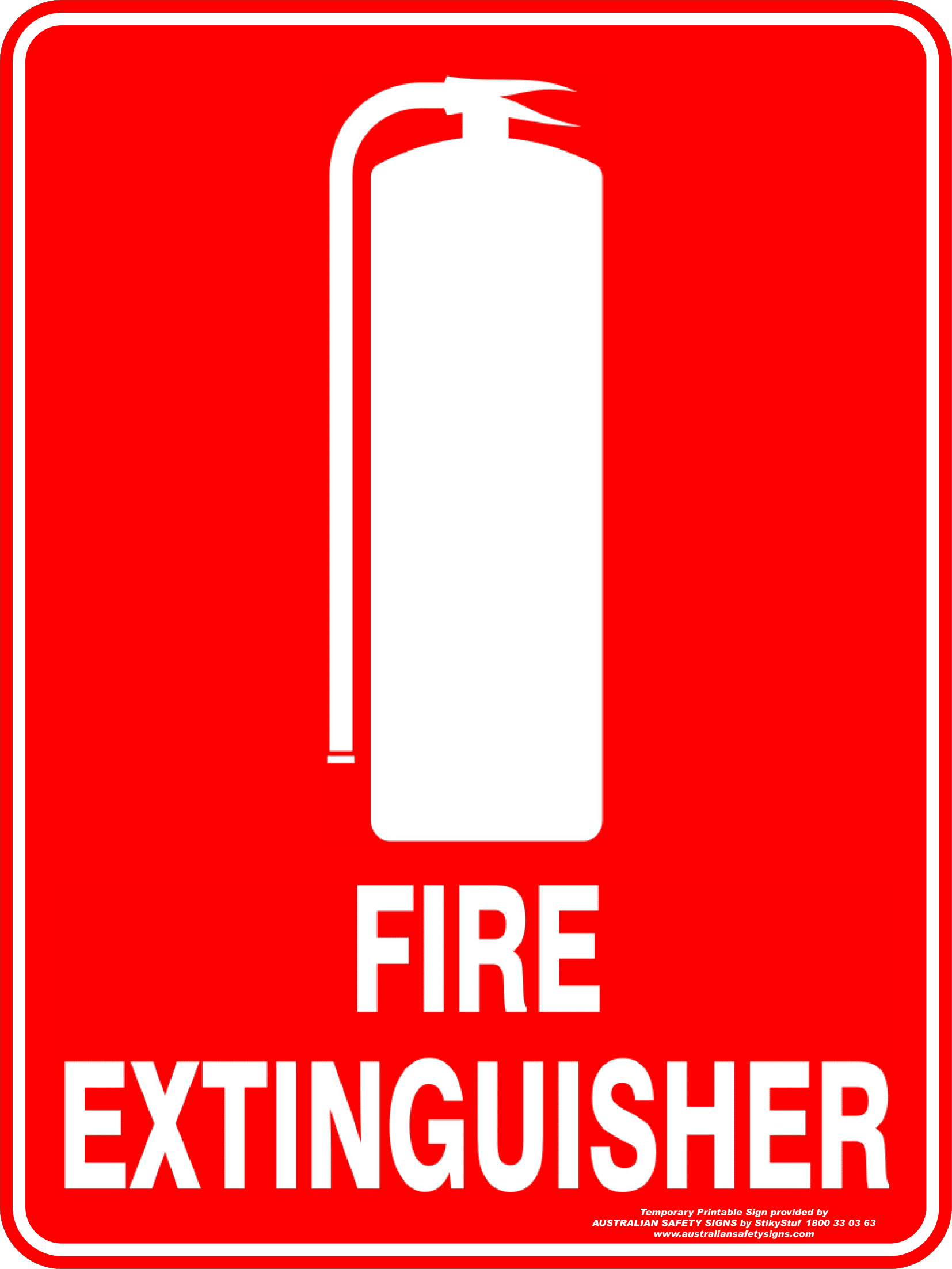 graphic about Printable Fire Extinguisher Sign known as Hearth Extinguisher Signs and symptoms Poster Template