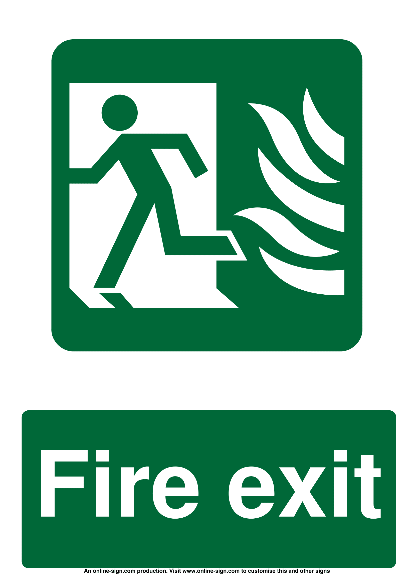 fire door signs poster template. Black Bedroom Furniture Sets. Home Design Ideas