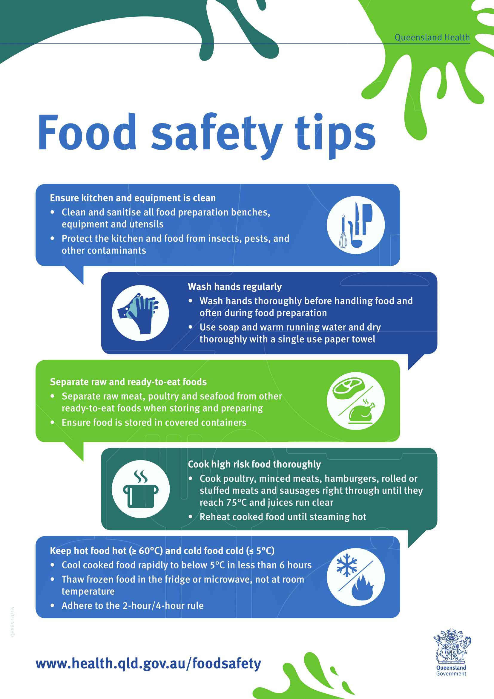 Food Safety Posters | Poster Template
