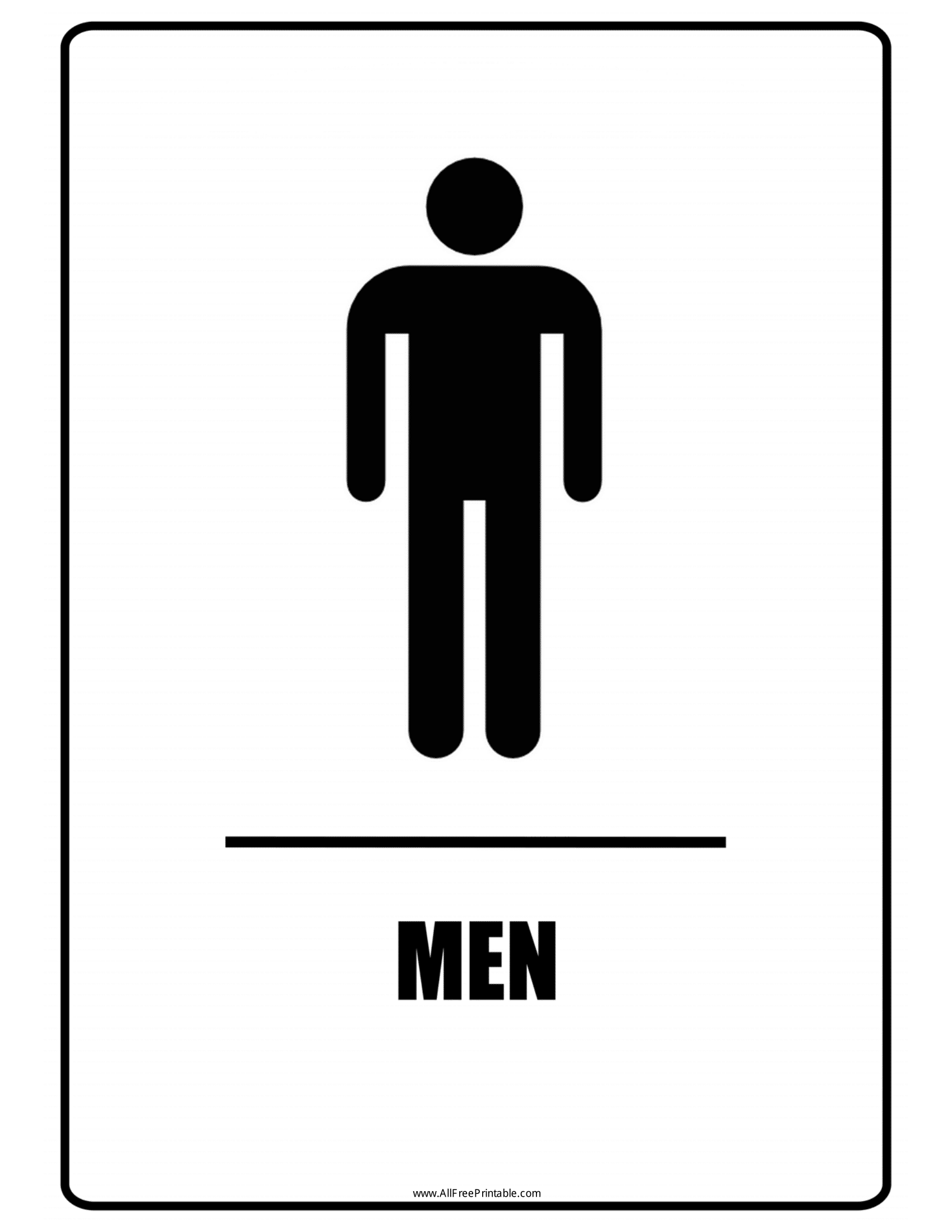 It's just a picture of Printable Bathroom Etiquette Signs within bilingual